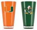 Miami Hurricanes Tumblers - Set of 2 (20 oz)