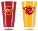 Iowa State Cyclones Tumblers - Set of 2 (20 oz)
