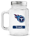 Tennessee Titans Mason Jar Glass With Lid