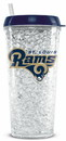 St. Louis Rams Crystal Freezer Tumbler