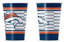 Denver Broncos Disposable Paper Cups