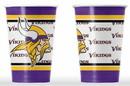 Minnesota Vikings Disposable Paper Cups
