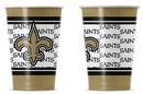 New Orleans Saints Disposable Paper Cups