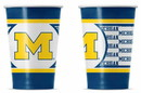 Michigan Wolverines Disposable Paper Cups