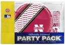 Nebraska Cornhuskers Party Pack 80 Piece