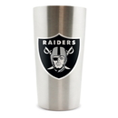 Oakland Raiders Thermo Cup 14oz Stainless Steel Double Wall