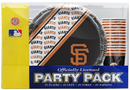 San Francisco Giants Party Pack 80 Piece