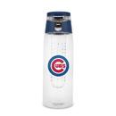 Chicago Cubs Sport Bottle 24oz Plastic Infuser Style Special Order