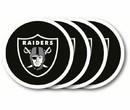 Oakland Raiders Coaster 4 Pack Set