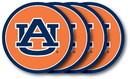 Auburn Tigers Coaster Set 4 Pack