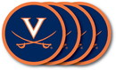 Univ Of Virginia Coaster Set 4-Pk. Special Order