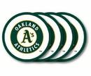 Oakland Athletics Coaster Set - 4 Pack