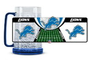 Detroit Lions Crystal Freezer Mug