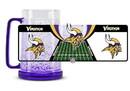 Minnesota Vikings Crystal Freezer Mug