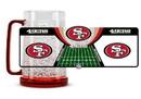 San Francisco 49ers Crystal Freezer Mug