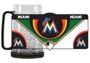 Miami Marlins Mug Crystal Freezer Style Special Order