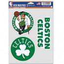 Boston Celtics Decal Multi Use Fan 3 Pack