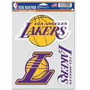 Los Angeles Lakers Decal Multi Use Fan 3 Pack