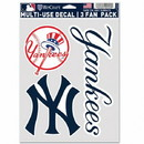 New York Yankees Decal Multi Use Fan 3 Pack