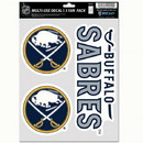 Buffalo Sabres Decal Multi Use Fan 3 Pack