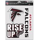 Atlanta Falcons Decal Multi Use Fan 3 Pack