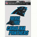 Carolina Panthers Decal Multi Use Fan 3 Pack