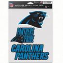 Carolina Panthers Decal Multi Use Fan 3 Pack