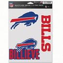 Buffalo Bills Decal Multi Use Fan 3 Pack