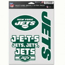 New York Jets Decal Multi Use Fan 3 Pack