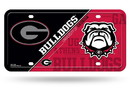 Georgia Bulldogs License Plate Metal Special Order
