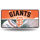 San Francisco Giants License Plate Metal