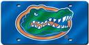 Florida Gators License Plate Laser Cut Blue