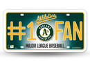 Oakland Athletics License Plate - #1 Fan