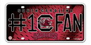 South Carolina Gamecocks License Plate - #1 Fan