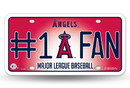 Los Angeles Angels License Plate - #1 Fan Special Order
