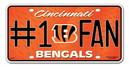 Cincinnati Bengals License Plate - #1 Fan