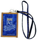 Kansas City Royals Beaded Lanyard Wallet