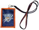 Oklahoma City Thunder Beaded Lanyard Wallet