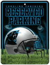 Carolina Panthers Metal Parking Sign