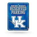 Kentucky Wildcats Metal Parking Sign