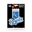 Kansas City Royals Decal 5x5 Die Cut Bling