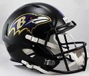 Baltimore Ravens Deluxe Replica Speed Helmet