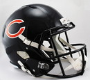 Chicago Bears Deluxe Replica Speed Helmet