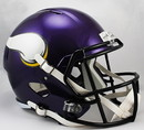 Minnesota Vikings Deluxe Replica Speed Helmet