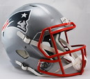 New England Patriots Deluxe Replica Speed Helmet