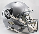 Oakland Raiders Deluxe Replica Speed Helmet