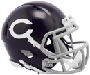 Chicago Bears Helmet Riddell Replica Mini Speed Style Color Rush 60's Classic Special Order