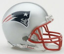 New England Patriots Replica Mini Helmet w/ Z2B Face Mask