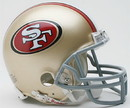 San Francisco 49ers Replica Mini Helmet w/ Z2B Face Mask