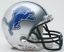 Detroit Lions Replica Mini Helmet w/ Z2B Face Mask